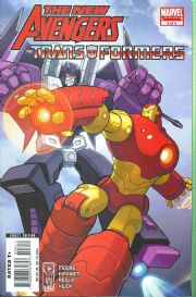 New Avengers Transformers #3 Marvel Comics US Import